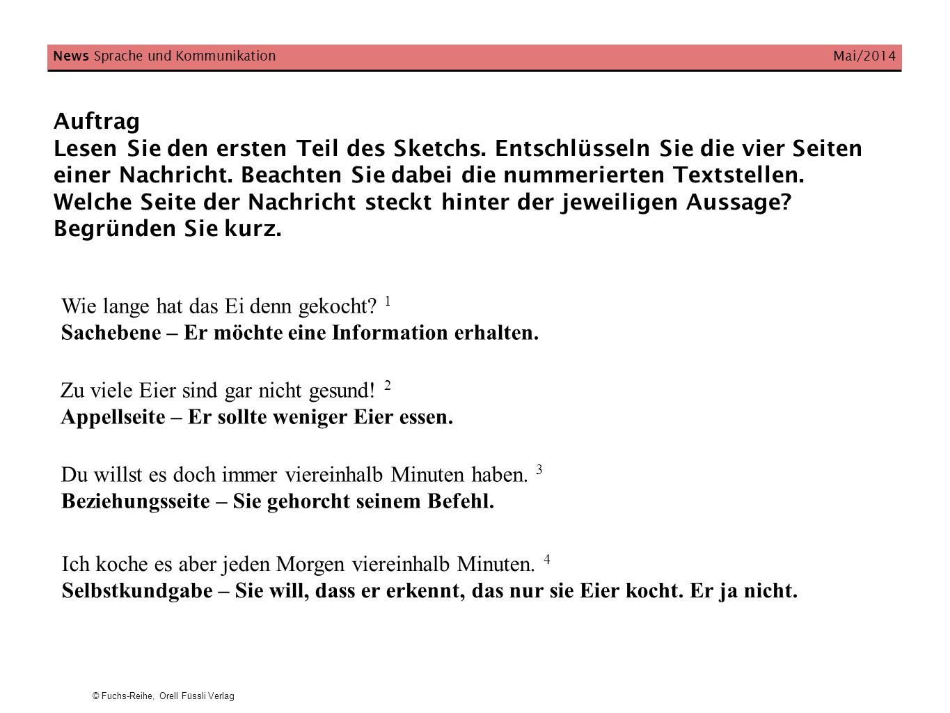 News Sprache und Kommunikation Mai/2014
