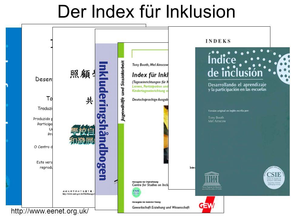 Der Index für Inklusion