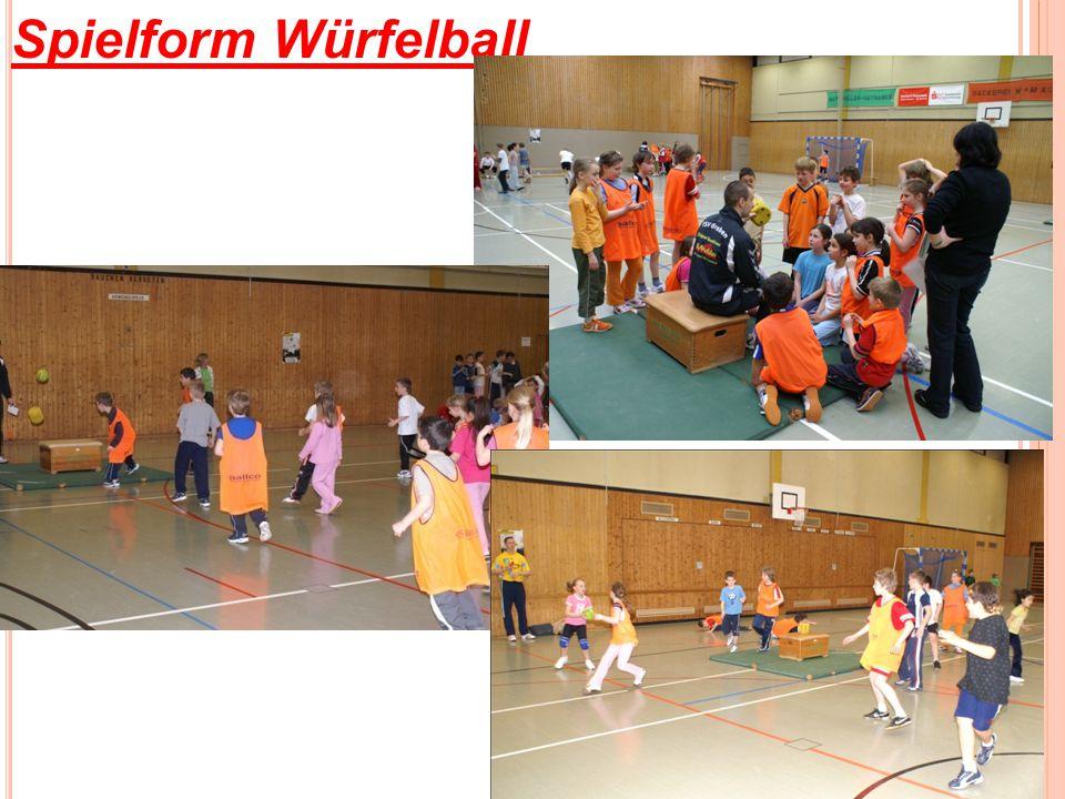 Spielform Würfelball