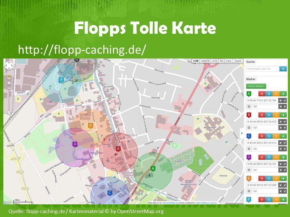 Flopps Tolle Karte http://flopp-caching.de/