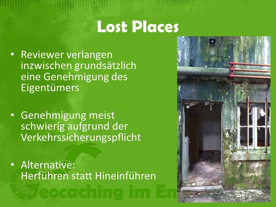 Lost Places Reviewer verlangen inzwischen grundsätzlich eine Genehmigung des Eigentümers.