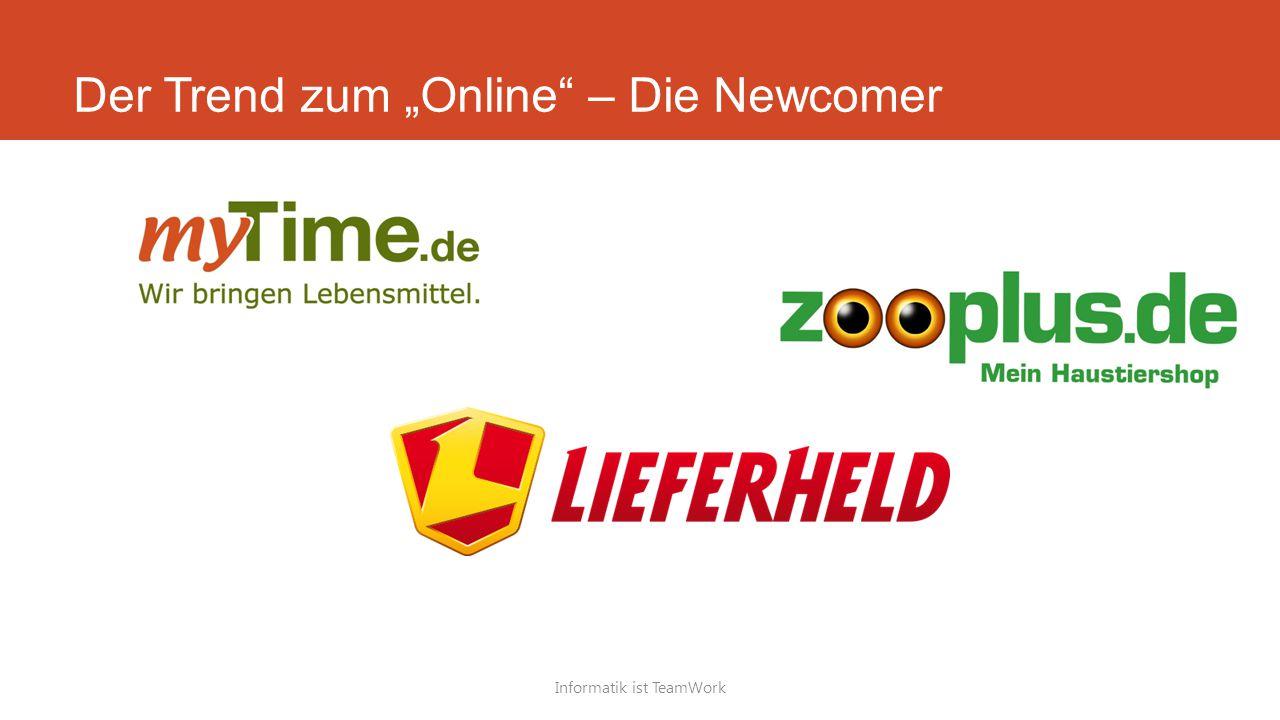 """Der Trend zum """"Online – Die Newcomer"""