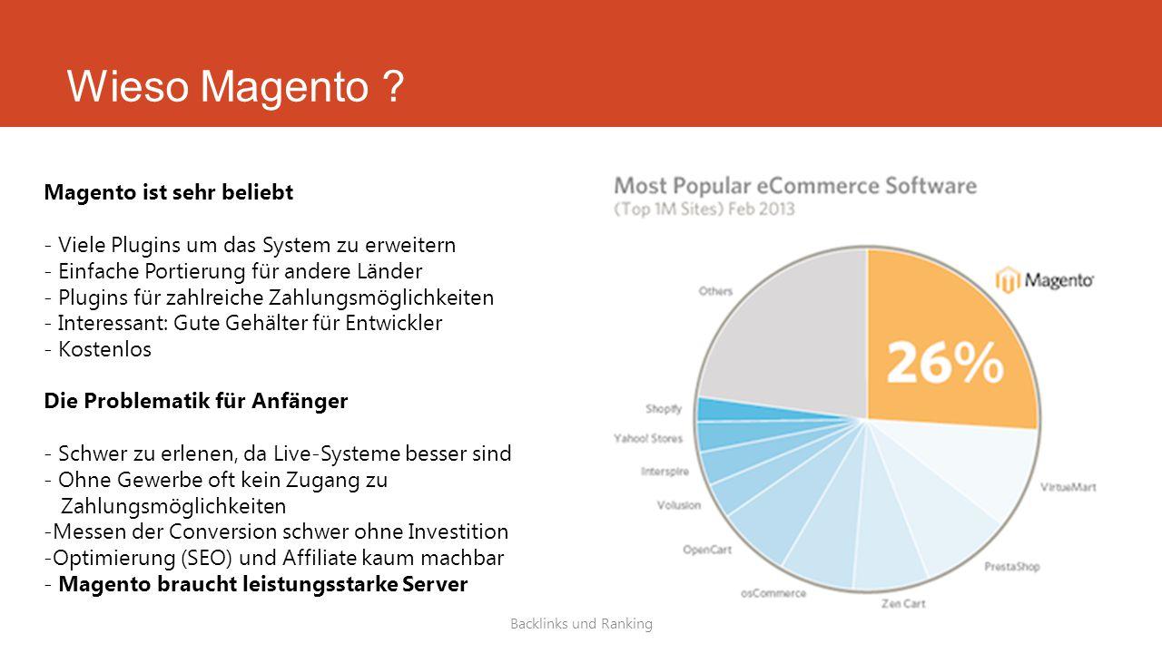 Wieso Magento Magento ist sehr beliebt