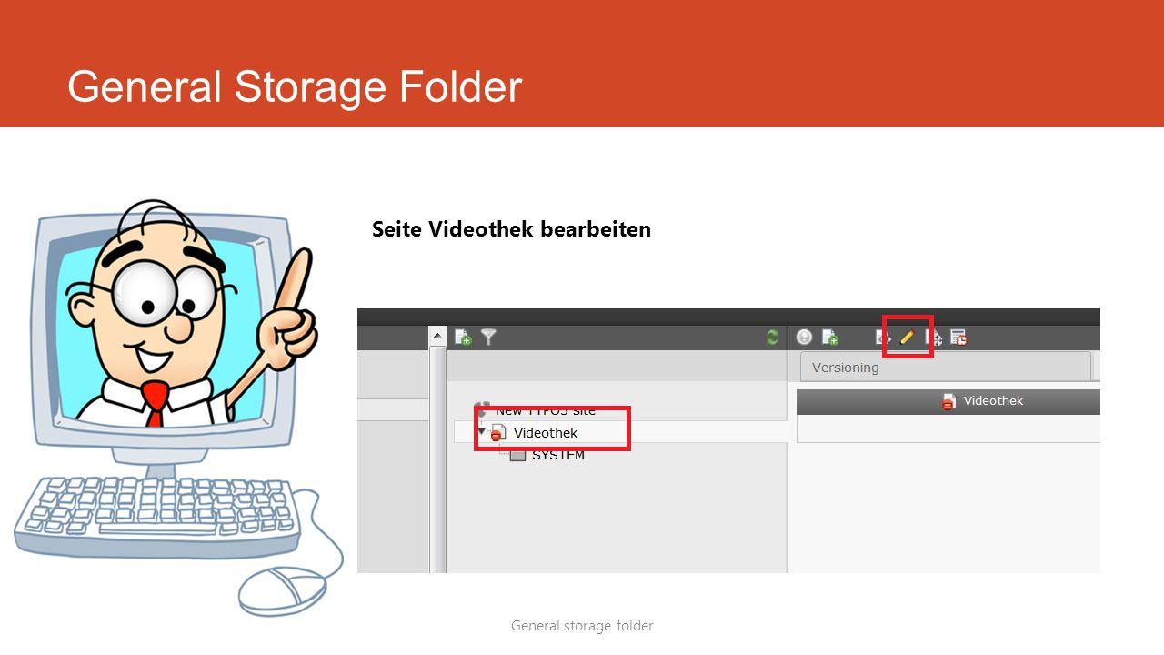 General Storage Folder