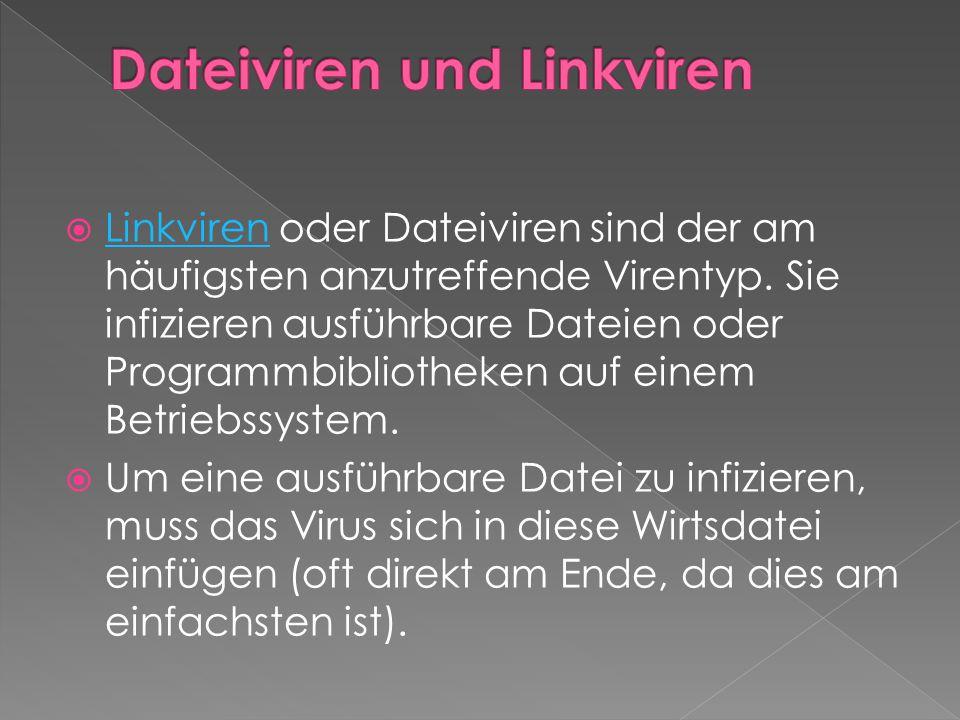 Dateiviren und Linkviren