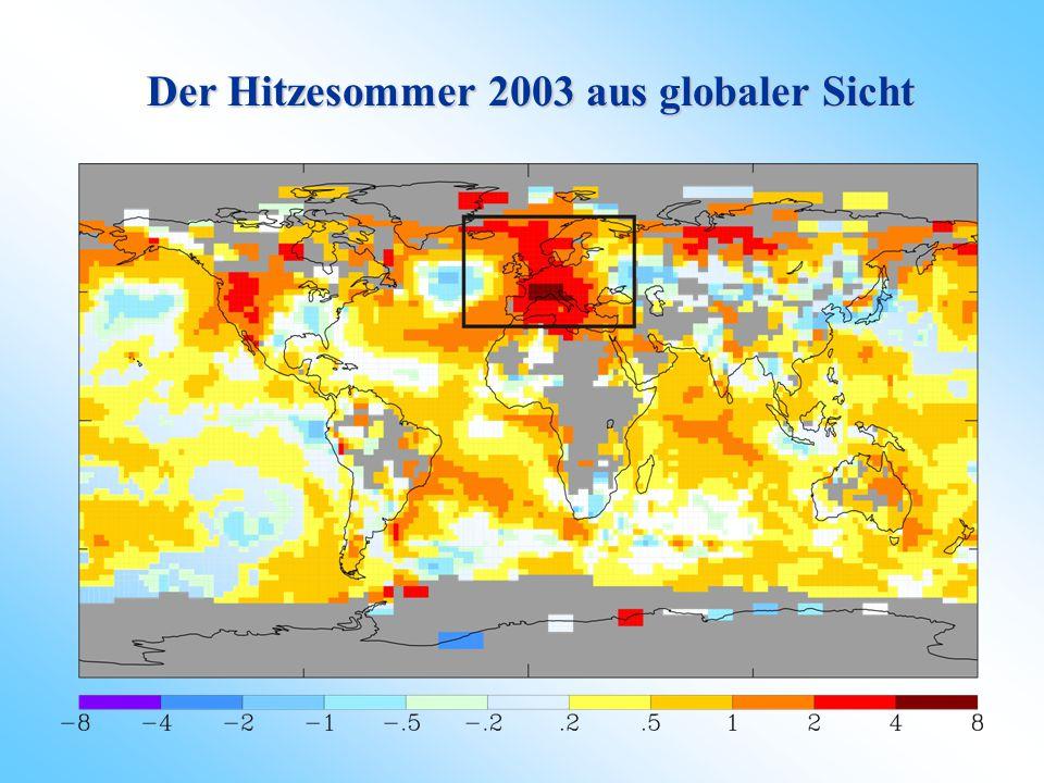 Der Hitzesommer 2003 aus globaler Sicht