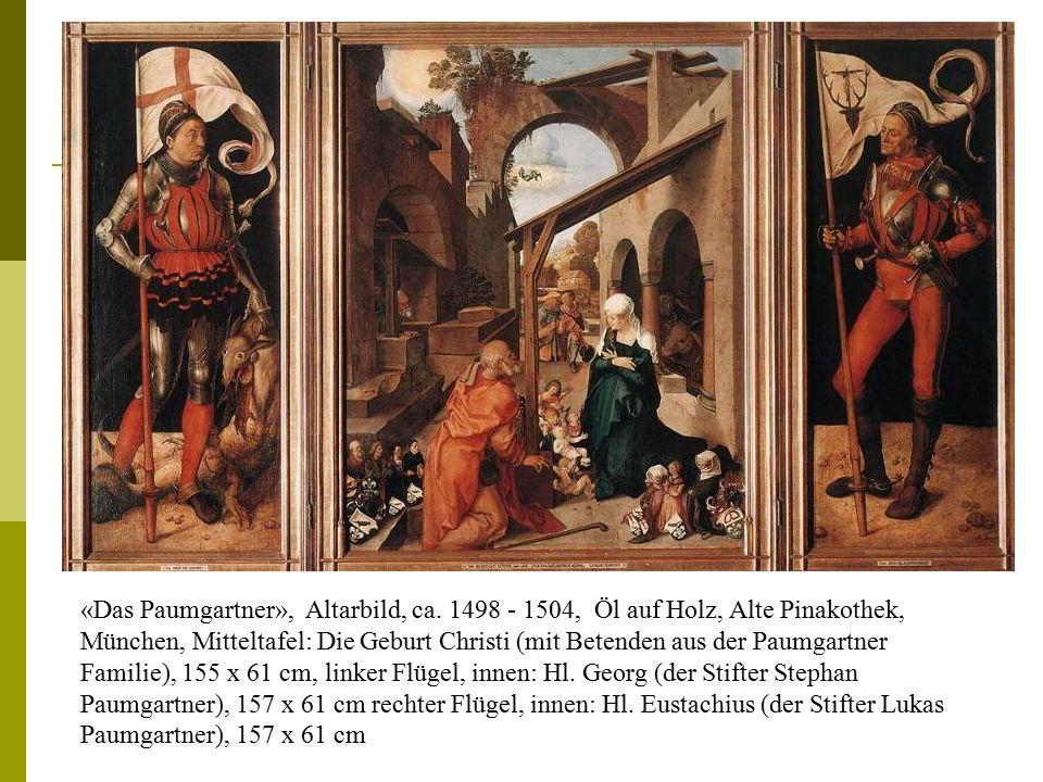 «Das Paumgartner», Altarbild, ca