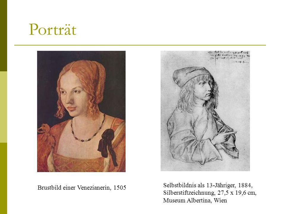 Porträt Brustbild einer Venezianerin, 1505.