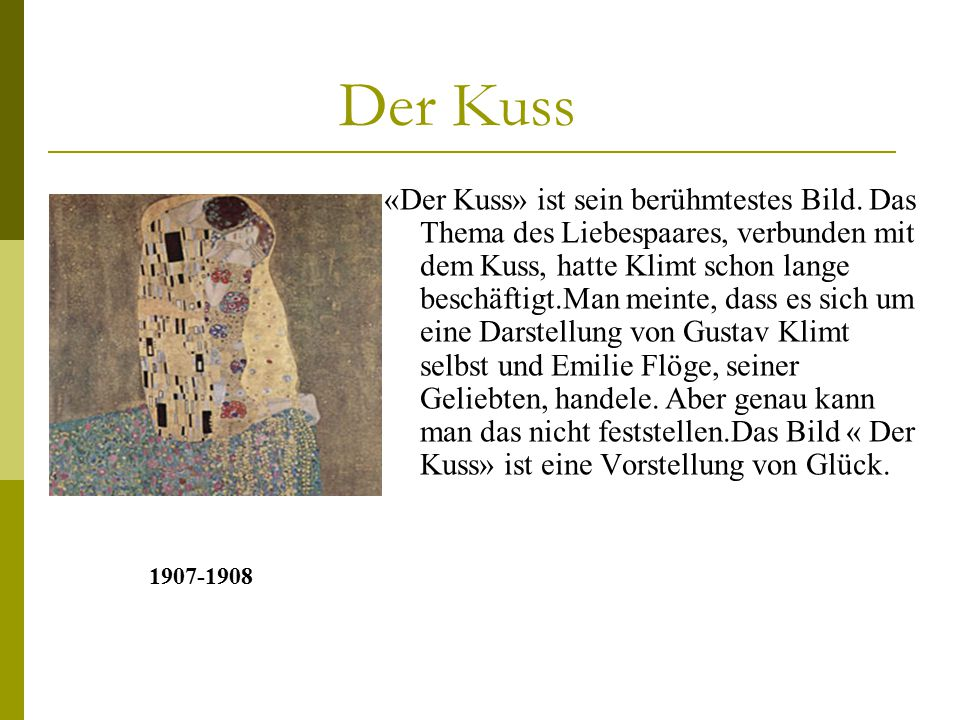 Der Kuss