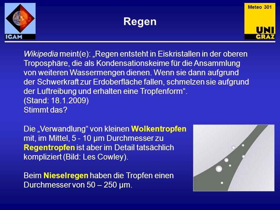 Meteo 301 Regen.