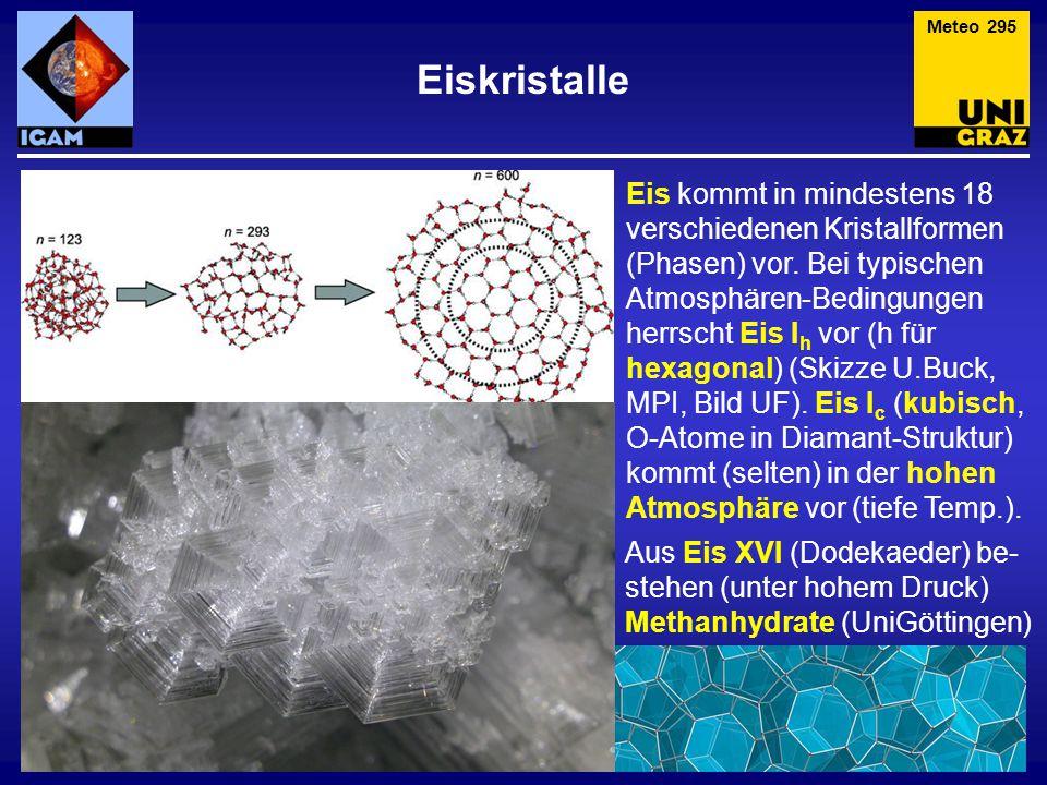 Meteo 295 Eiskristalle.