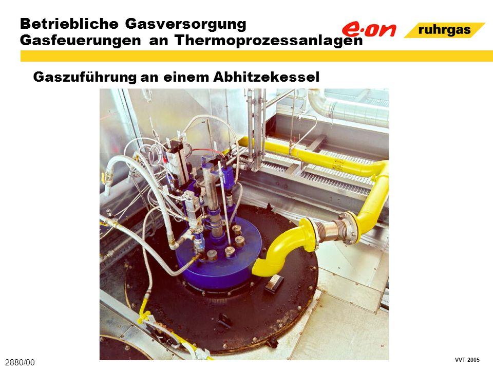 Betriebliche Gasversorgung Gasfeuerungen an Thermoprozessanlagen
