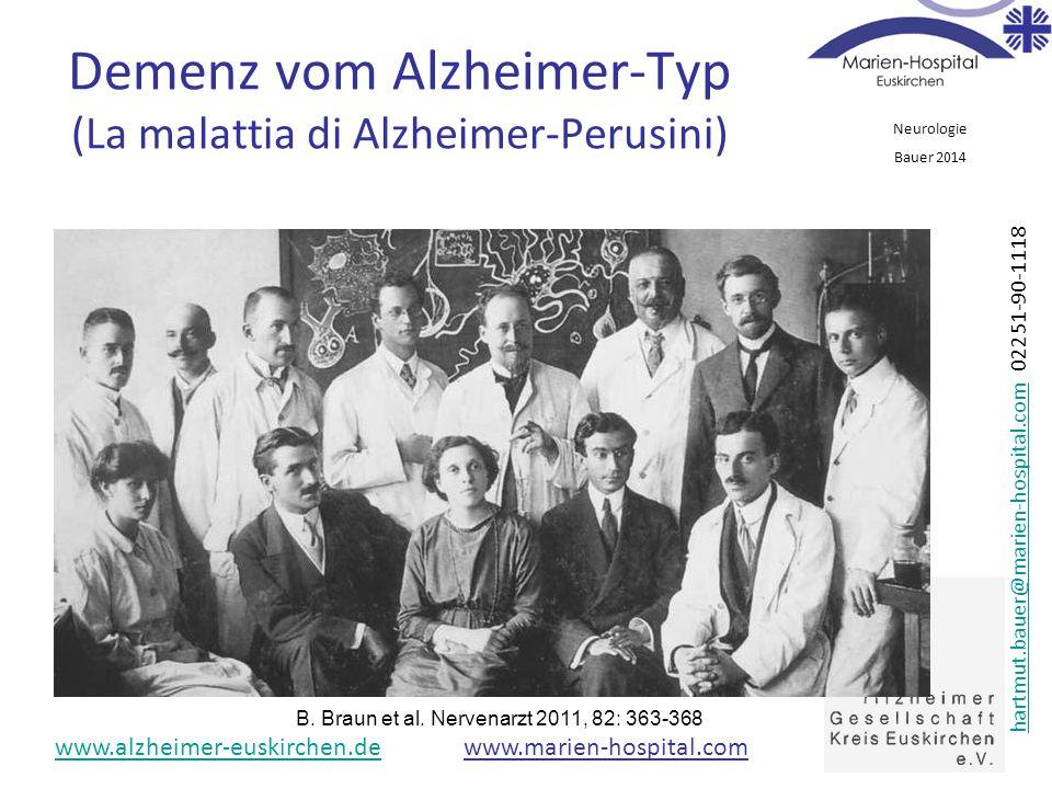 Demenz vom Alzheimer-Typ (La malattia di Alzheimer-Perusini)