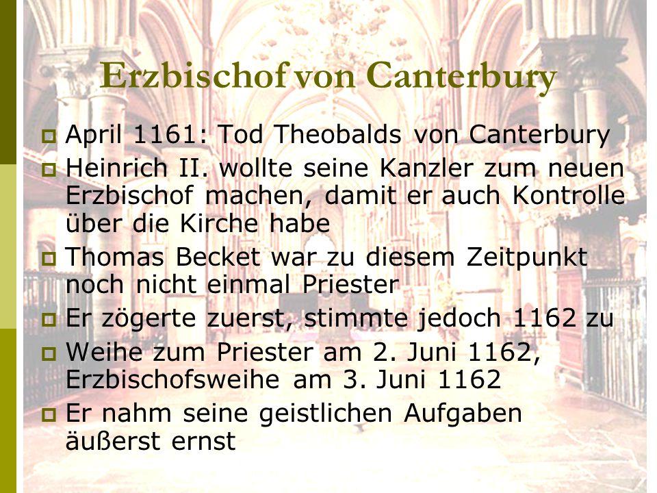 Erzbischof von Canterbury