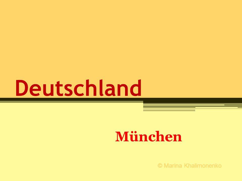 Deutschland München © Marina Khalimonenko