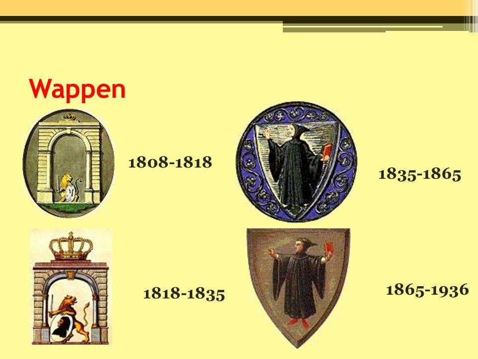Wappen 1808-1818 1835-1865 1865-1936 1818-1835