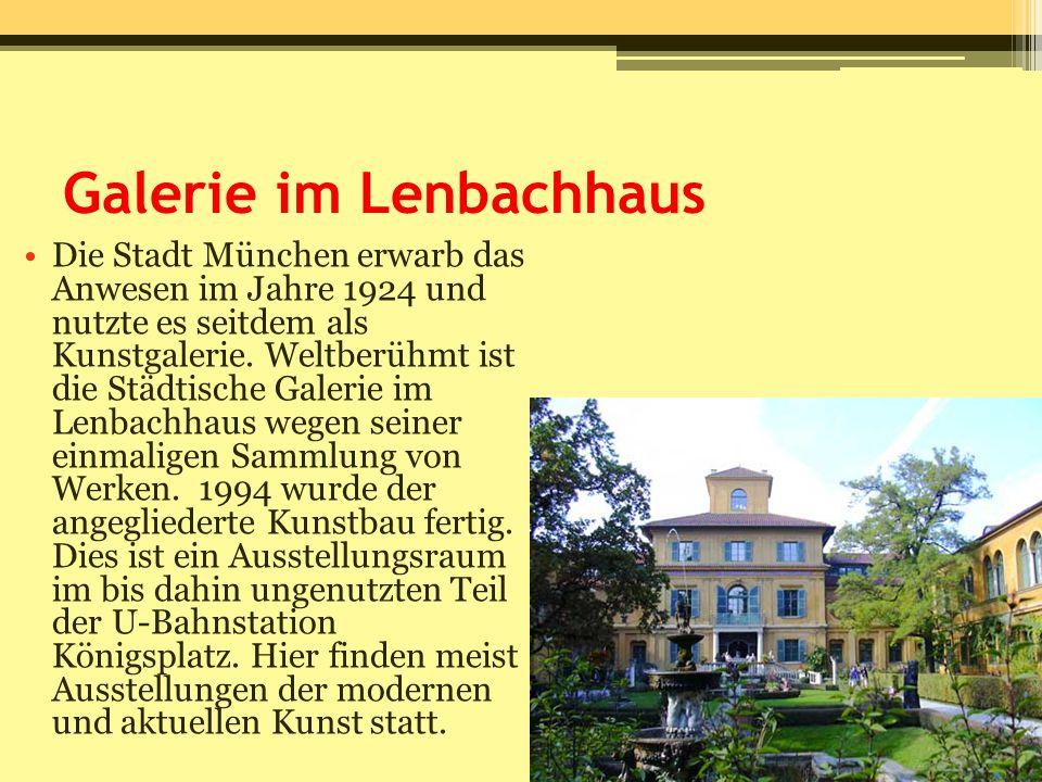 Galerie im Lenbachhaus