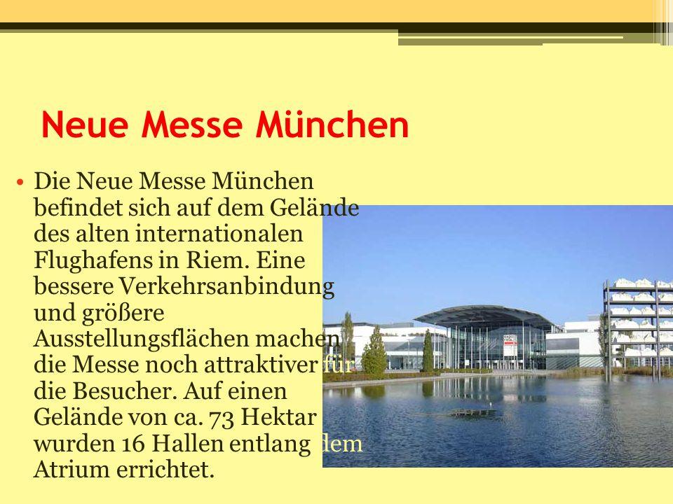 Neue Messe München