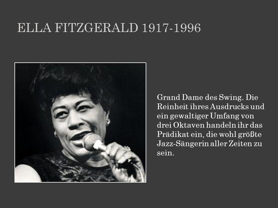 Ella Fitzgerald 1917-1996