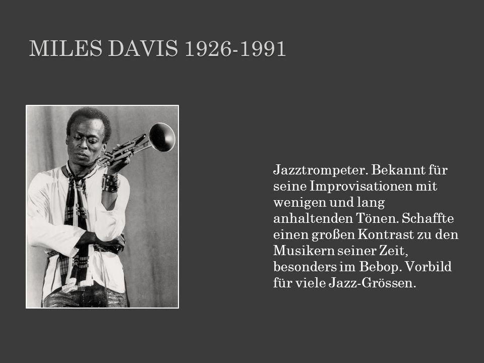 Miles davis 1926-1991