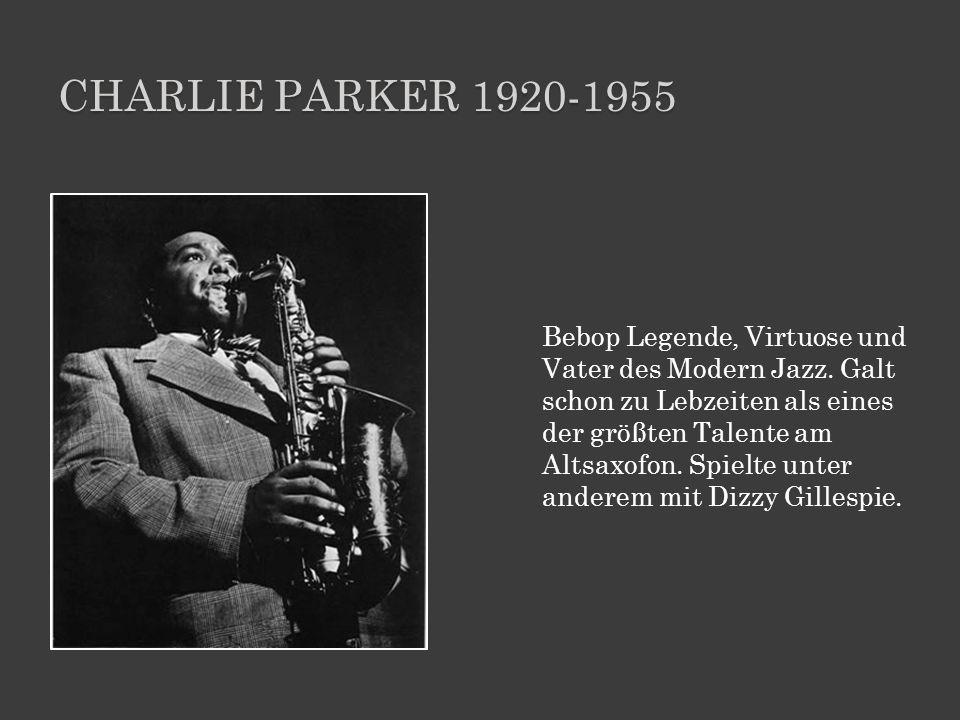 Charlie parker 1920-1955