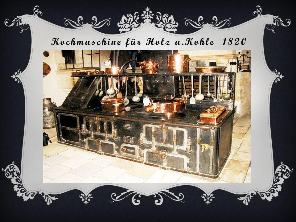 Kochmaschine für Holz u.Kohle 1820