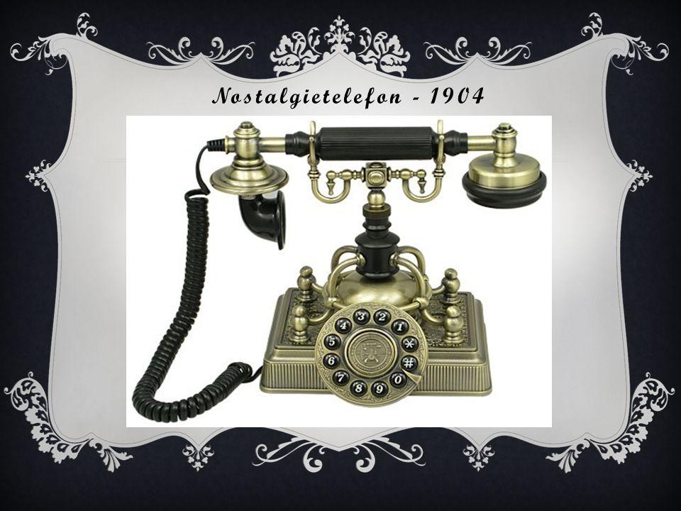 Nostalgietelefon - 1904