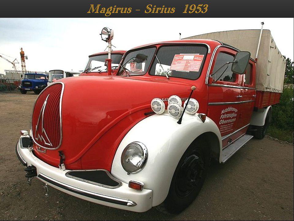 Magirus – Sirius 1953