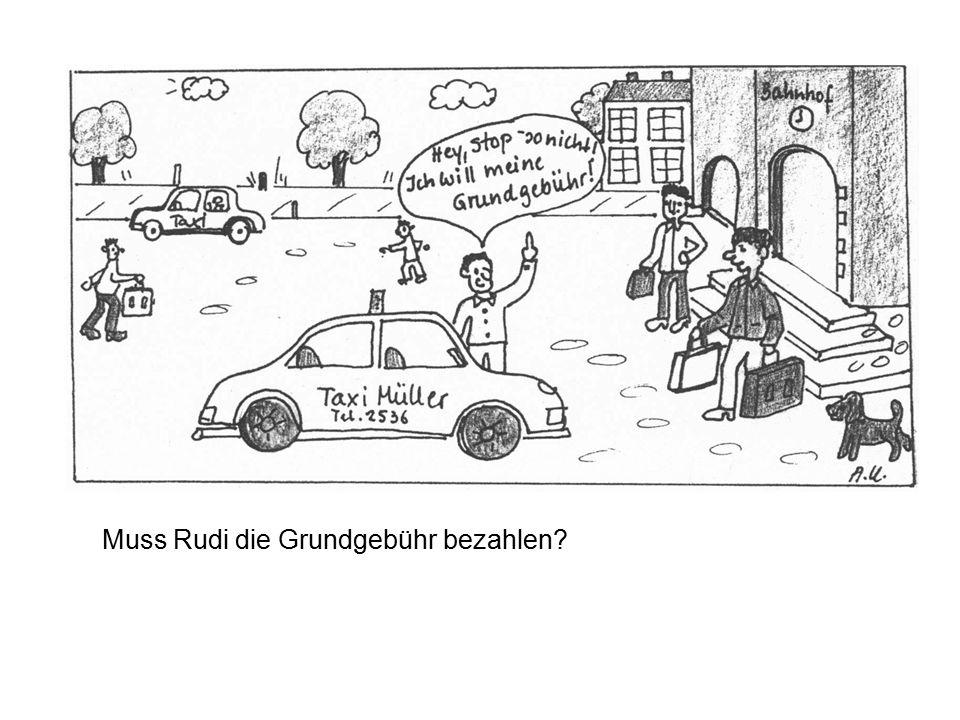 Muss Rudi die Grundgebühr bezahlen