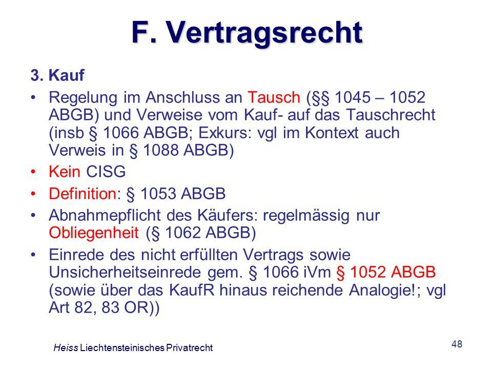 F. Vertragsrecht 3. Kauf.