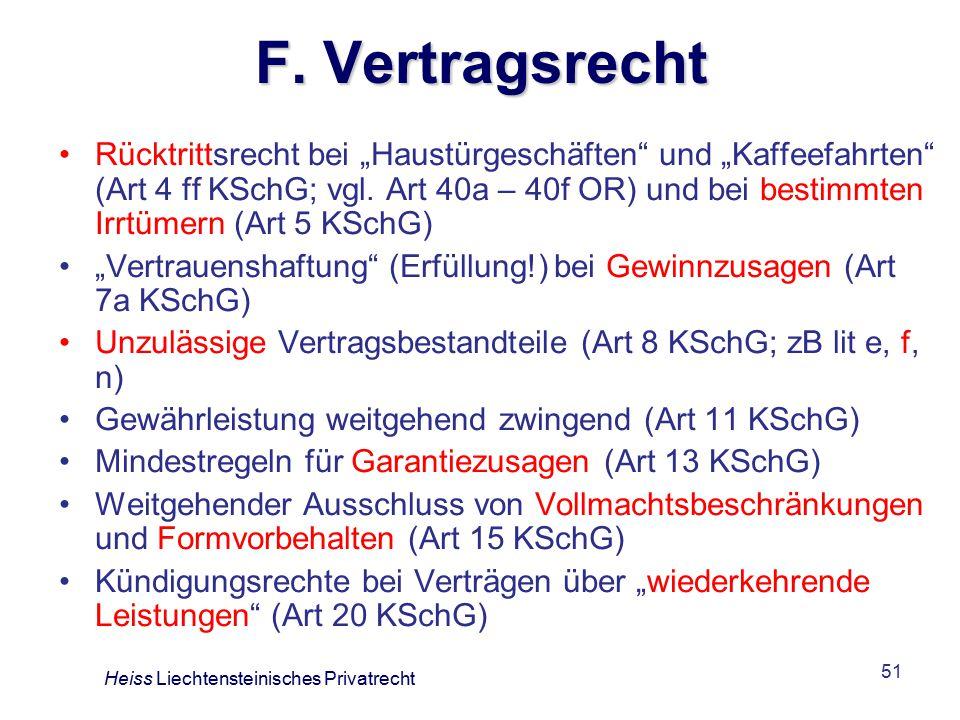 F. Vertragsrecht