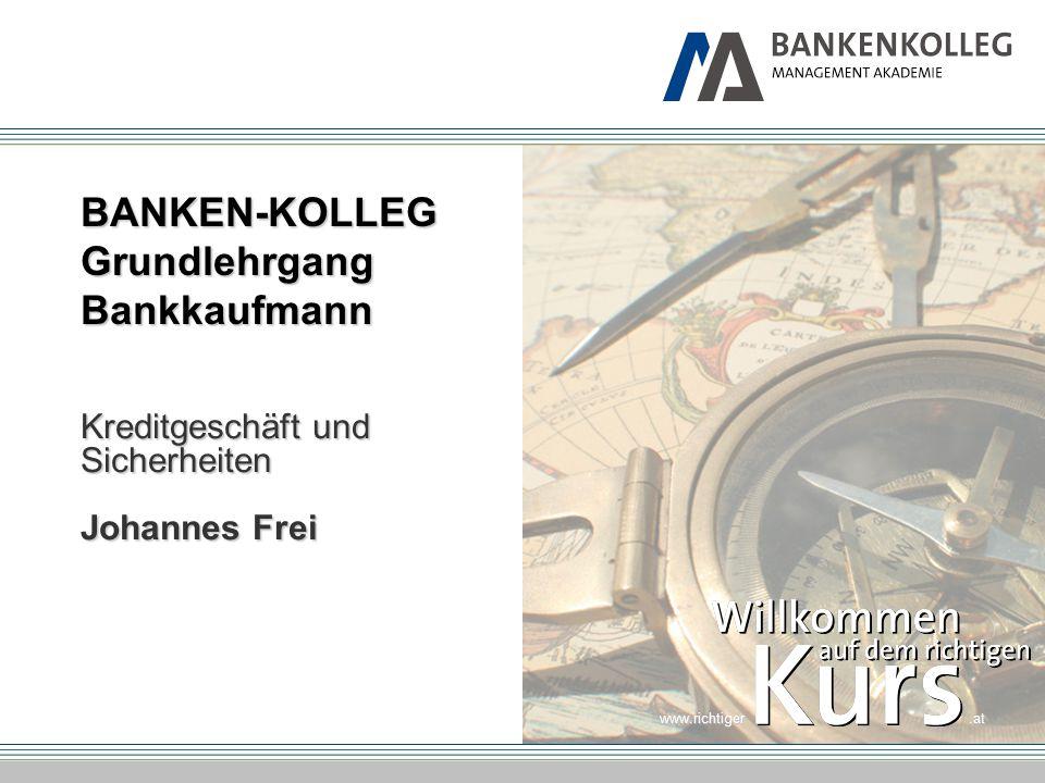 BANKEN-KOLLEG Grundlehrgang Bankkaufmann
