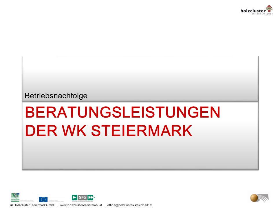 Beratungsleistungen der WK Steiermark