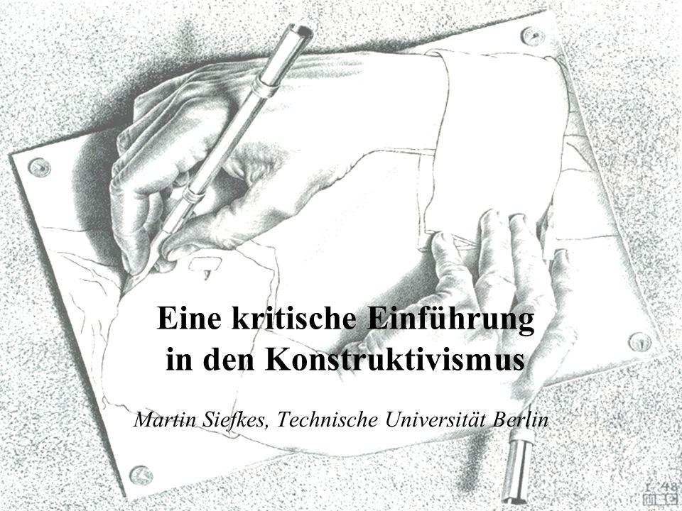 Martin Siefkes, Technische Universität Berlin