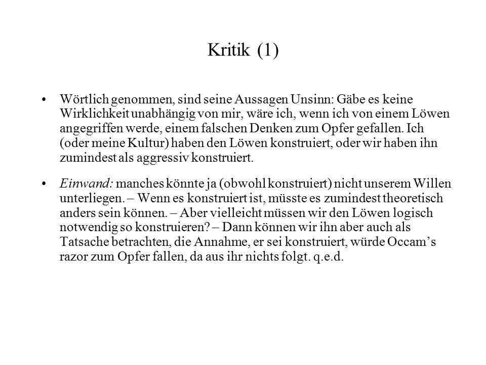 Kritik (1)
