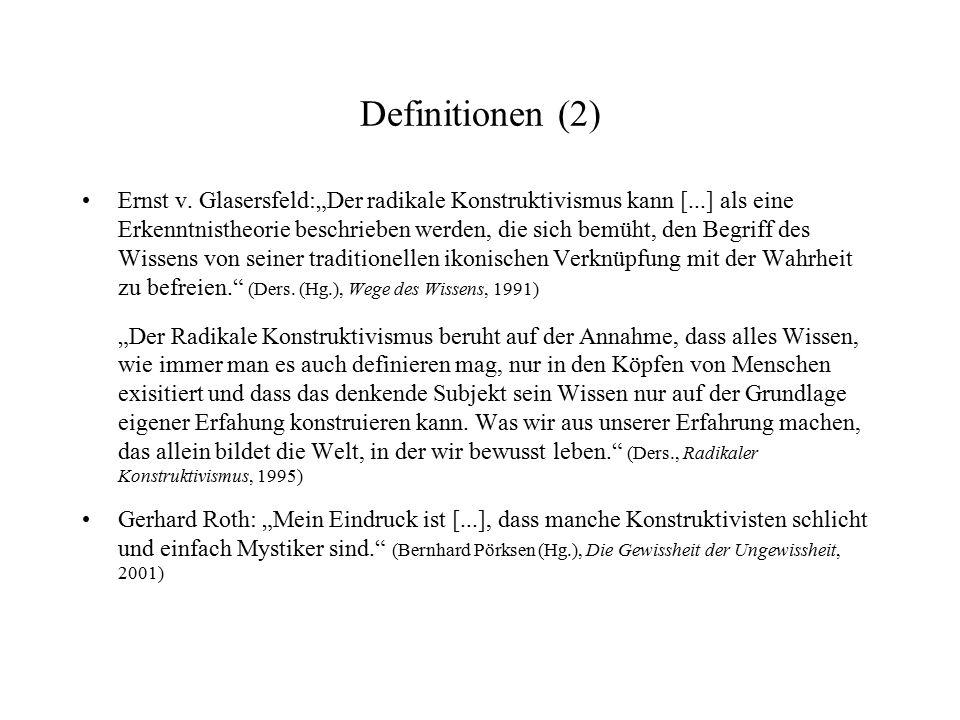 Definitionen (2)