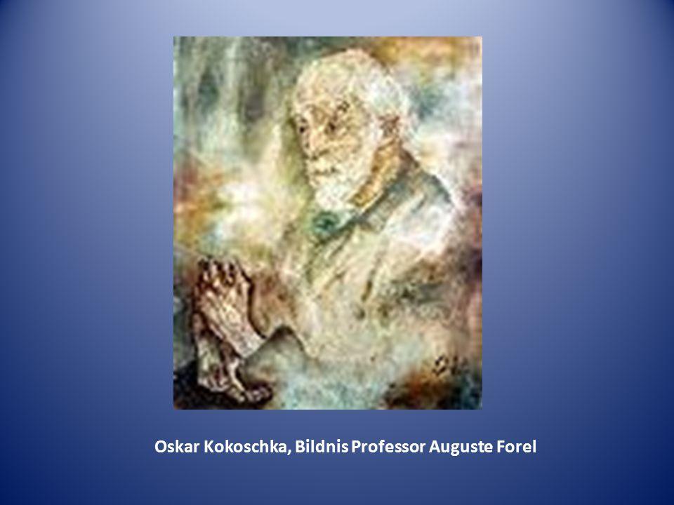 Oskar Kokoschka, Bildnis Professor Auguste Forel