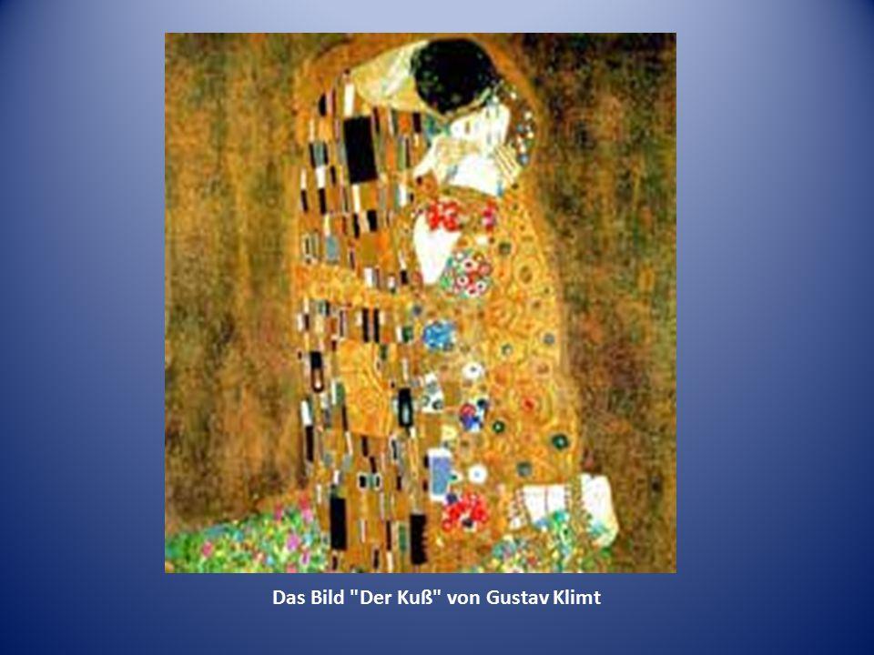 Das Bild Der Kuß von Gustav Klimt