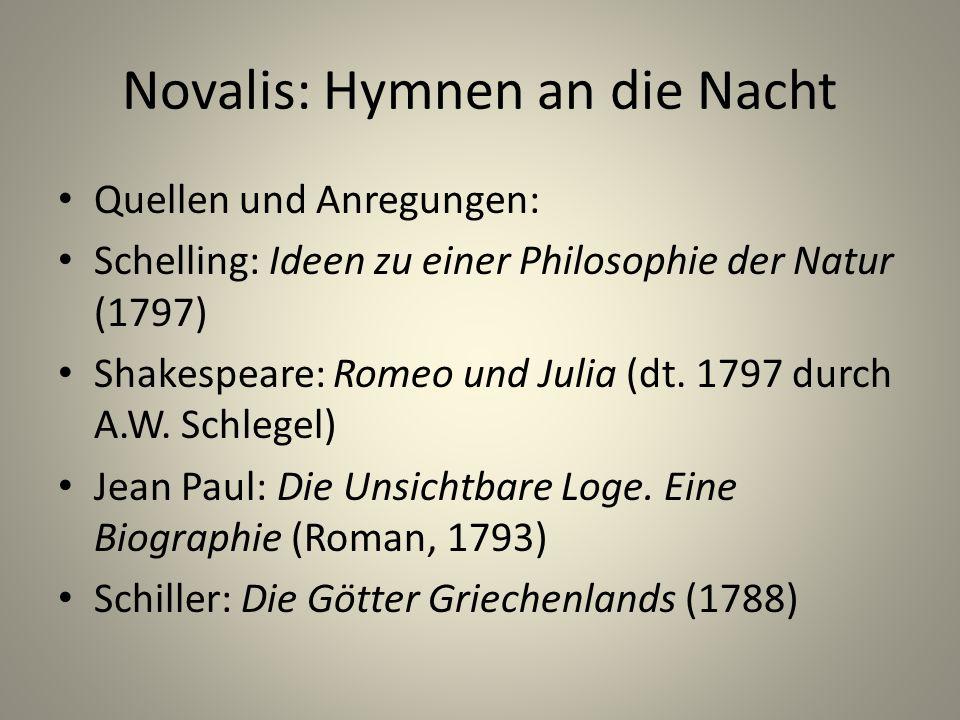 Novalis: Hymnen an die Nacht