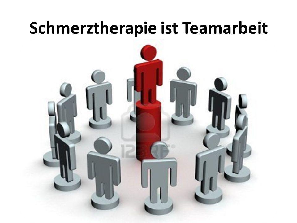 Schmerztherapie ist Teamarbeit