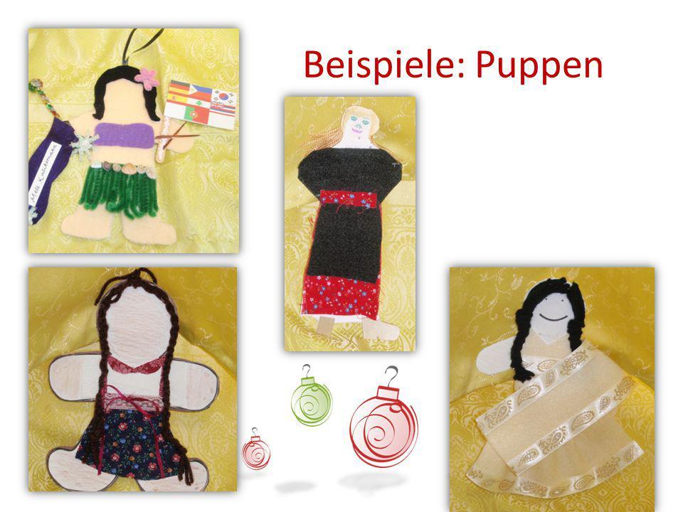 Beispiele: Puppen