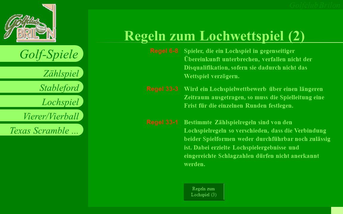 Regeln zum Lochwettspiel (2)