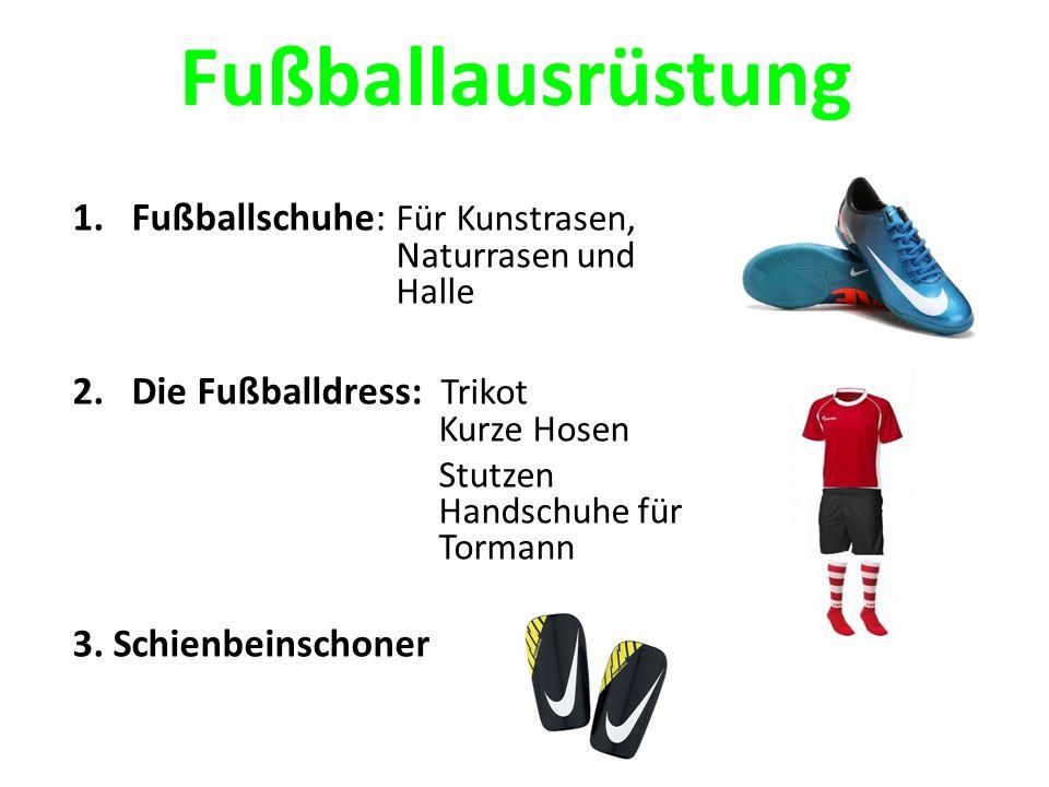 Fußballausrüstung Fußballschuhe: Für Kunstrasen, Naturrasen und Halle