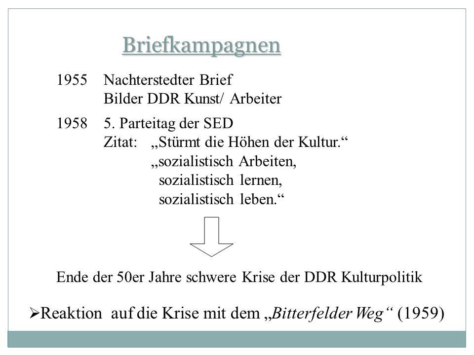 Briefkampagnen Nachterstedter Brief Bilder DDR Kunst/ Arbeiter