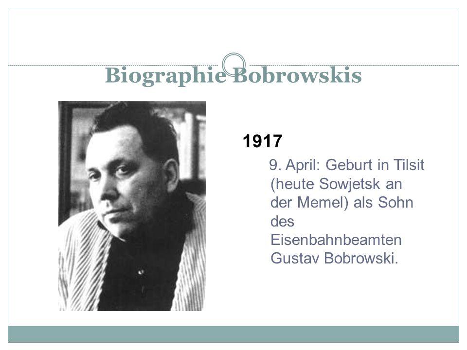 Biographie Bobrowskis