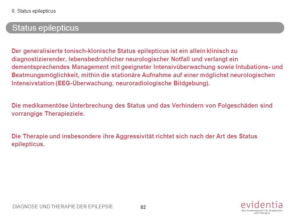 9. Status epilepticus Status epilepticus.