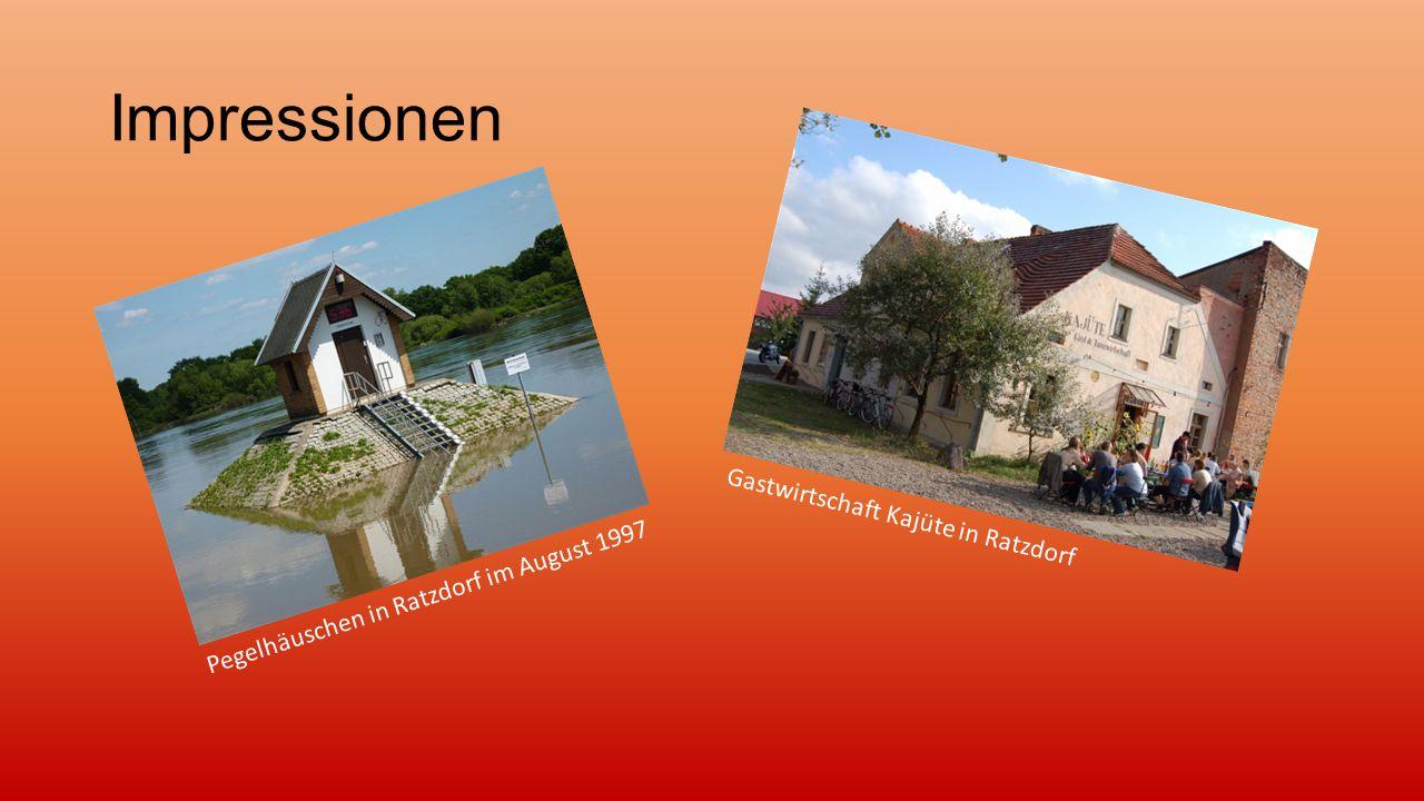 Impressionen Gastwirtschaft Kajüte in Ratzdorf