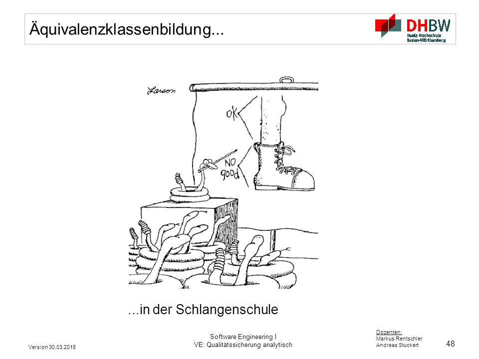 Äquivalenzklassenbildung...
