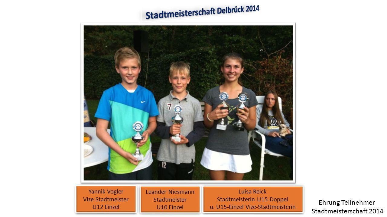 Stadtmeisterschaft Delbrück 2014