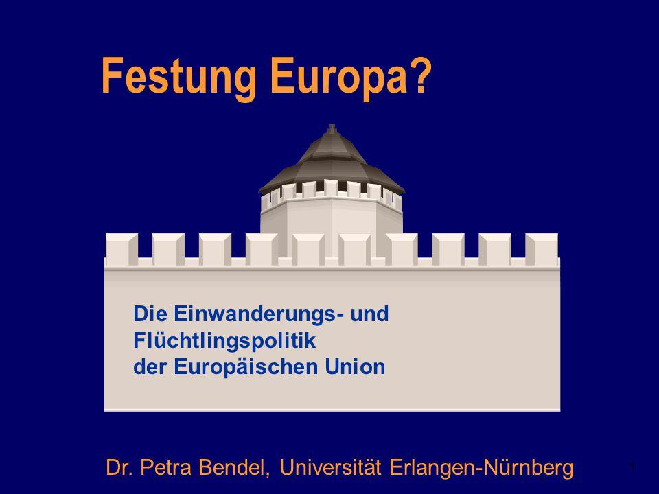 Festung Europa Die Einwanderungs- und Flüchtlingspolitik